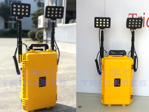 Outdoor removable LED case